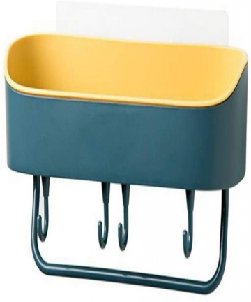 Bathroom-shelfWall-mounted-bathroom-storage-rackNo-Drilling-Shower-Caddies-Storage-Rack-for-ToiletkitchenRestroom-blue-B08DN92HJ
