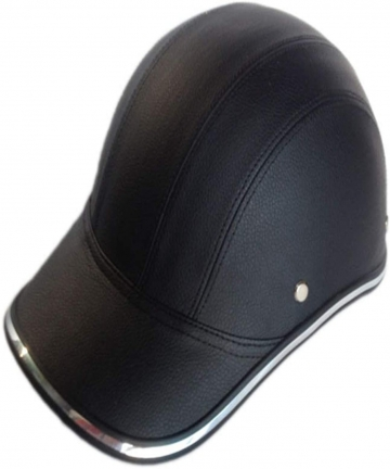 Motorcycle-Bicycle-Scooter-Half-Helmet-PU-Leather-Baseball-Cap-Style-Unisex-Fashion-Hard-Hat-Open-Face-Safety-Helmet-B07VBMP52C