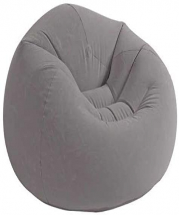 Intex-Recreation-Beanless-Bag-Chair-68579-Grey-B07MVVYPNX