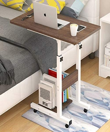 Rubik-Bed-Table-for-Laptop-Breakfast-Food-Bedside-Table-Height-Adjustable-60x40cm-FieldOakBrown-B08B7V4R1K