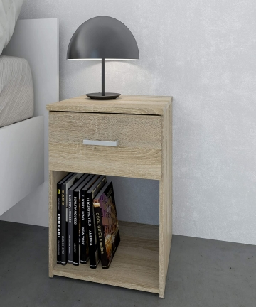 Tvilum-Particle-Board-Space-Night-Stand-70423-Oak-H475-x-D3595-x-W376-cm-DIY-Assembly-70423akak