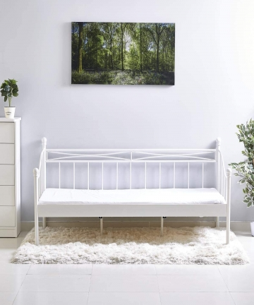 Home-Box-Isabella-90x200-Day-Bed-White-B07TSD47VR