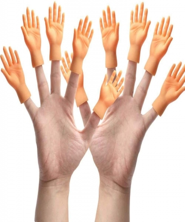 10-Pieces-Finger-Puppet-Mini-Finger-Hands-Tiny-Hands-with-Left-Hands-and-Right-Hands-for-Game-Party-B08P4PVWD4