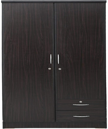 2-Door-Wooden-Wardrobe-Wenge-D50-x-W90-x-H190-cm-by-Galaxy-Design-GDF-622