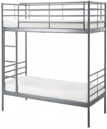 Heavy-Duty-Steel-Bunker-Bed-190x90cm-Silver-Without-Mattress-GDF-116