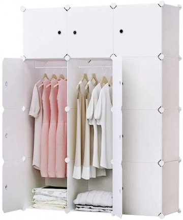 Portable-Wardrobe-for-Hanging-Clothes-Combination-Armoire-Modular-Cabinet-for-Space-Saving-Ideal-Storage-Organizer-Cube-for-book