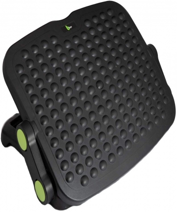 Bergo-Footrest-L100-Under-Desk-Adjustable-Ergonomic-Footrest-with-static-Foot-Massage-B07MCL1JPC