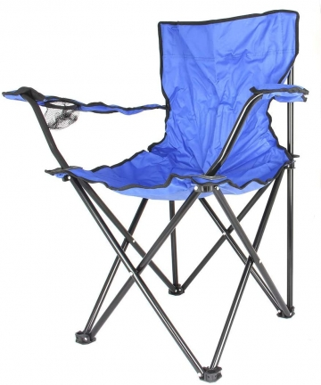 Camptrek-Foldable-Beach-And-Garden-Chair-Blue-BCI-3706-BCI-3706