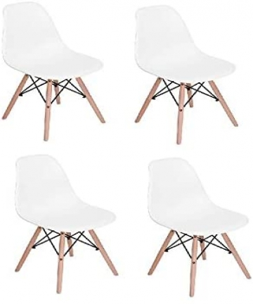 Vogue-Rico-V1-Set-of-4-Dining-Chairs-White-Beige-B07PG3Q1ST