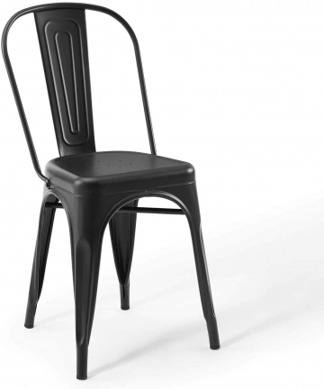 LANNY-Industrial-Modern-Metal-Chair-Stackable-Indoor-and-Outdoor-Home-Kitchen-Dining-Room-Restaurant-Cafe-Chair-BLACK-B08CCFDH9N