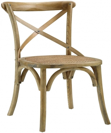 LANNY-Rustic-Solid-Wood-Cross-Back-Chair-With-Rattan-Seat-B07WD5GRKF