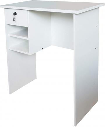 Mahmayi-MP1-9045-Solama-Office-Desk-with-Paper-Rack-Premium-White-B084JNMTSP