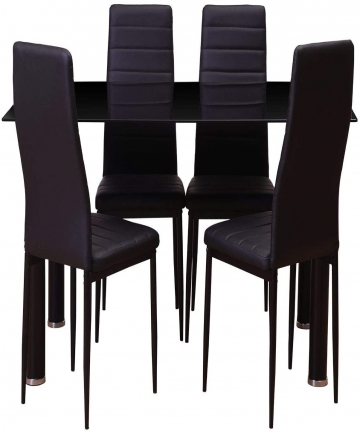 Pan-Emirates-Uniqa-Dining-Set-14-Black-B08B696P16