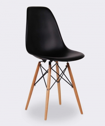 Set-of-4-Eames-Style-DSW-Molded-Black-Plastic-Dining-Shell-Chair-B07MG87XWF