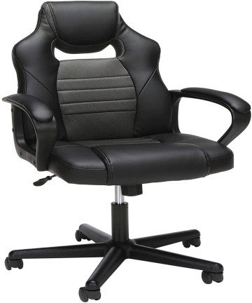 Mahmayi-Essentials-Gaming-Chair-High-Back-Computer-Chair-Pu-Leather-Desk-Chair-Pc-Racing-Executive-Ergonomic-Adjustable-Swivel-T