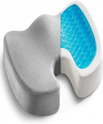 Gel-Enhanced-Seat-Cushion-Non-Slip-Orthopedic-Gel-Memory-Foam-Coccyx-Cushion-for-Tailbone-Pain-Office-Chair-Car-Seat-Cushion-Sci