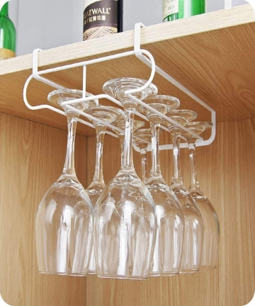 Lakobos-4-Rows-Drink-Glass-Rack-Champagne-Glass-Rack-Holder-Wine-Cup-Rack-Air-Drying-System-Freestanding-Drink-Cup-Display-Stand