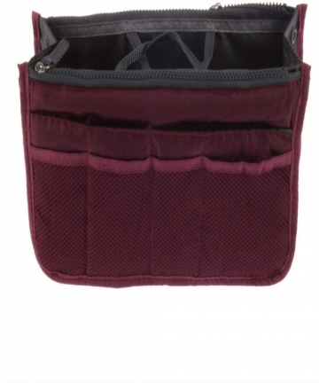 Wine-Red-Travel-Insert-Handbag-Organizer-Purse-Multiple-Liner-Tidy-Bag-B07N6MBWDS