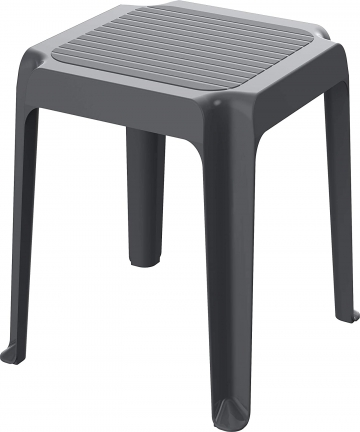 Cosmoplast-6291048156246-18-kg-Plastic-Regina-Low-Square-Table-for-Indoors-and-Outdoors-Cool-Grey-480-cm-x-480-cm-x-430-cm-62910