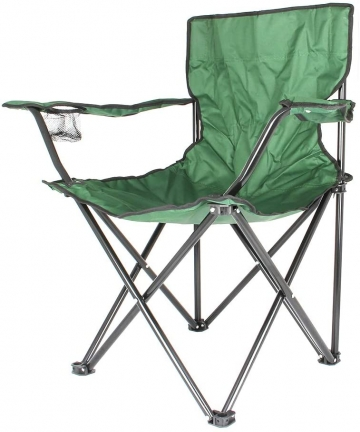 Camptrek-In-House-3659-Foldable-Beach-And-Garden-Chair-Green-BCI-3705-Green-H13-x-W822-x-D13-cm-3659