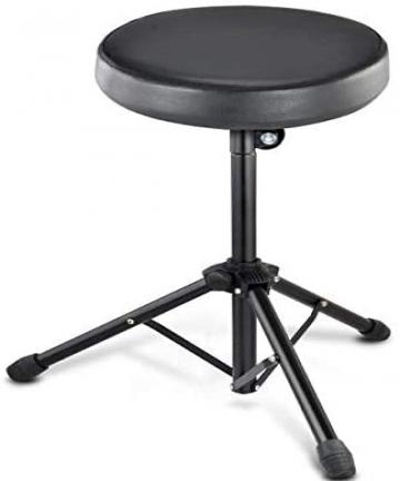 Folding-Music-Guitar-Keyboard-Drum-Stool-Rock-Band-Piano-Chair-Seat-B07N6N9XBW