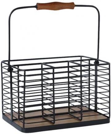 Yardwe-Metal-Kitchen-Pantry-Food-Storage-Organizer-Basket-Bin-Milk-Bottle-Carrier-for-Cabinets-Cupboards-Shelves-Countertops-Clo