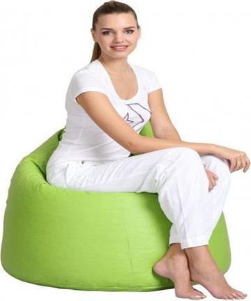 Comfy-PVC-Bean-Bag-Light-Green-ARC10-ARC10