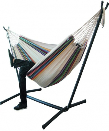Double-Cotton-Hammock-Hanging-Chair-Large-Hammock-for-Camping-Outdoors-Or-Gardens-And-Travel-Max-Load-200Kg-B089R3PJWL
