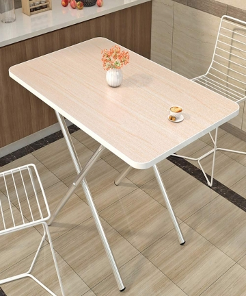 Class-Centerfold-Folding-Table-6-Feet-White-CLDNBM09-Elegant-wood-grain-60X40cm-B0888H5XTP
