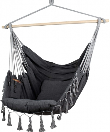 Komorebi-Hammock-Chair-Hanging-Rope-Swing-Seat-for-Indoor-Outdoor-Soft-Durable-Cotton-Canvas-2-Cushions-Included-Large-Reading-C