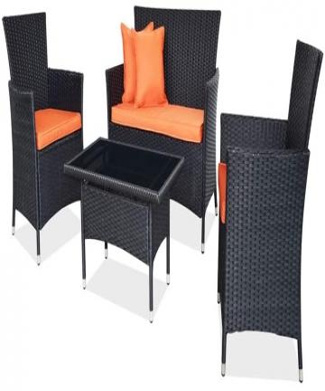 Danube-Home-Alyana-Sofa-Set-4-Pieces-Orange-H94-x-W61-x-D105-cm-B08L1QK1RC
