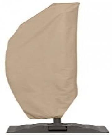 North-East-Harbor-UMBR011-Cover-Protective-Storage-10-Ft-Hanging-Umbrella-Offset-Tan-Color-UMBR011