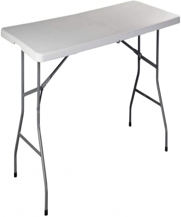LANNY-18m-6Ft-Foldable-Lightweight-Table-Durable-Outdoor-and-Indoor-Portable-Table-Colour-White-B083HJFPY3