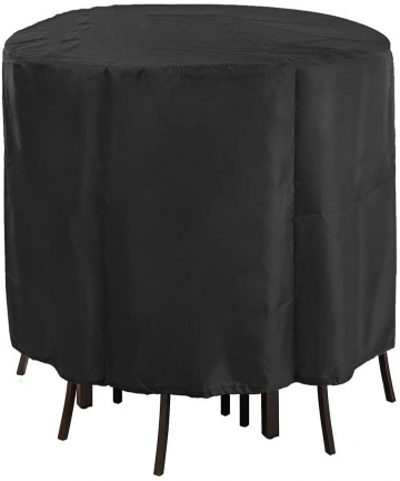 Protective-Cover-Black-Round-Furniture-Table-Dust-Guard-Upgrade-210D-Oxford-Cloth-Waterproof-Anti-UV-Suitable-for-Outdoor-Patio1