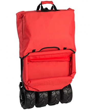 Ultrasport-331900000134-Unisex-Adult-Collapsible-Cart-Red-88-x-45-x-17-cm-3319000001