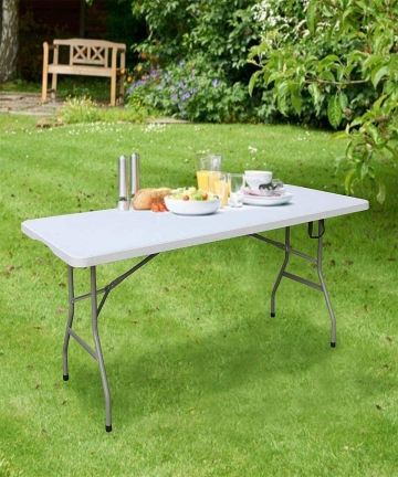 LANNY-15m-5ft-Heavy-Duty-Folding-Table-Centerfold-Ideal-for-Crafts-Outdoor-Events-156-75cm-White-Table-B08LQLVF97