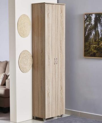 Home-Box-Capri-Tall-Shoe-Cabinet-Sonoma-Oak-33-Pairs-B07VX62XSB