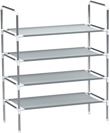 Longkins-Shoe-Rack-4-layer-Shoe-Organizer-Dormitory-Shoe-Stand-Family-Accessories-Storage-Shelf-B07NYZF7LD