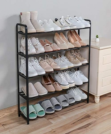 5-Tier-Shoe-Rack-Organiser-Heavy-duty-storage-unit-Quick-Assembly-No-Tools-Required-Holds-upto-15-20-pairs-black-B08DCHJ3JD