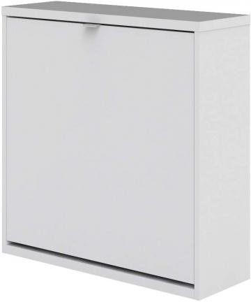 Tvilum-Particle-Board-Shoe-Cabinet-59004-White-H418-x-W2405-x-D703-cm-DIY-Assembly-590044949