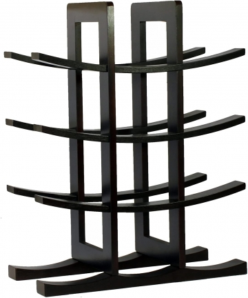 Oceanstar-12-Bottle-Bamboo-Wine-Rack-Dark-Espresso-WR1132