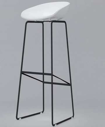 LANNY-Barstools-Cocktail-Office-High-Chair-1679-for-Kitchen-Dining-Plastic-Seat-with-Metal-Leg-White-B07N5ZSHSC