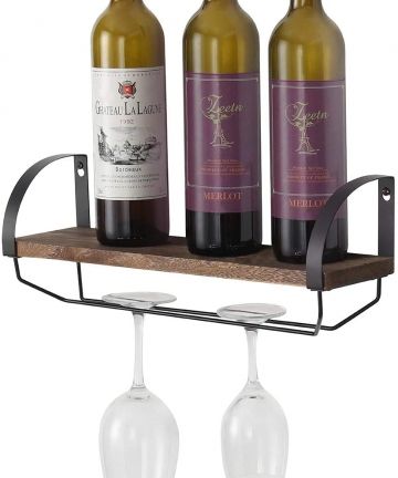 Terby-Wall-Mounted-Wooden-Wine-RackRustic-Wood-Wine-Rack-with-Glass-Holder-and-Wall-Shelf-for-Wine-Gland-Bottles-Wine-Cork-Stora