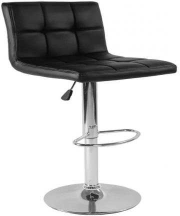Modern-Square-PU-Leather-Adjustable-Bar-Stools-with-Back-Counter-Height-Swivel-Stool-A-Black-B08LCRX5GJ
