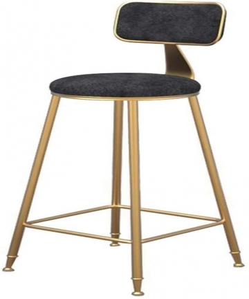 QJY-Stool-and-bar-stool-counter-stool-with-gold-metal-legs-and-ergonomic-chair-breakfast-bar-stool-for-bar-cafe-Color-Black-Size