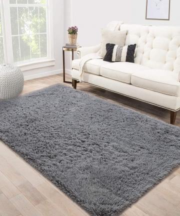 Area-Rug-Shag-Fluffy-Rugs-Shaggy-Carpet-Bedside-Floor-Mat-Super-Soft-Non-slip-for-Living-Room-Dining-Room-Bedroom-Grey-Rectangle