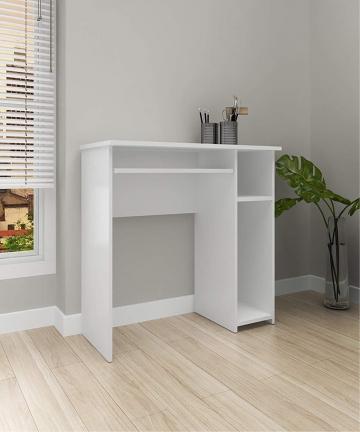 Tecnomobili-Office-Desk-ME41400002-White-H745-x-W40-x-D90-cm-ME4140000