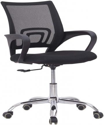 Mahmayi-Sleekline-6901-Low-Back-Mesh-Chair-Black-Without-Rocking-Function-Black-B07WHJ1VRH