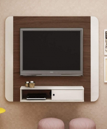 Artely-Wave-Wall-Panel-for-50-inch-TV-Walnut-with-Off-White-W-140-cm-x-D-28-cm-x-H-1055-cm-7899307518