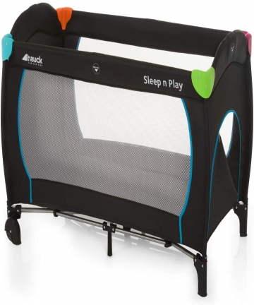 Hauck-SleepN-Play-Go-Plus-Travel-Bed-0M-to-15-kg-Multicolor-Black-600702